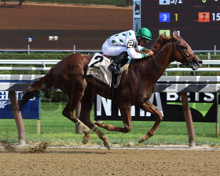 Promises Fulfilled wins the 2018 Amsterdam<br /> Coglianese Photos/Susie Raisher
