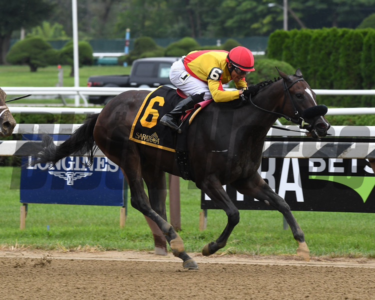 Sue's Fortune wins the 2018 Adirondack Stakes<br /> Coglianese Photos