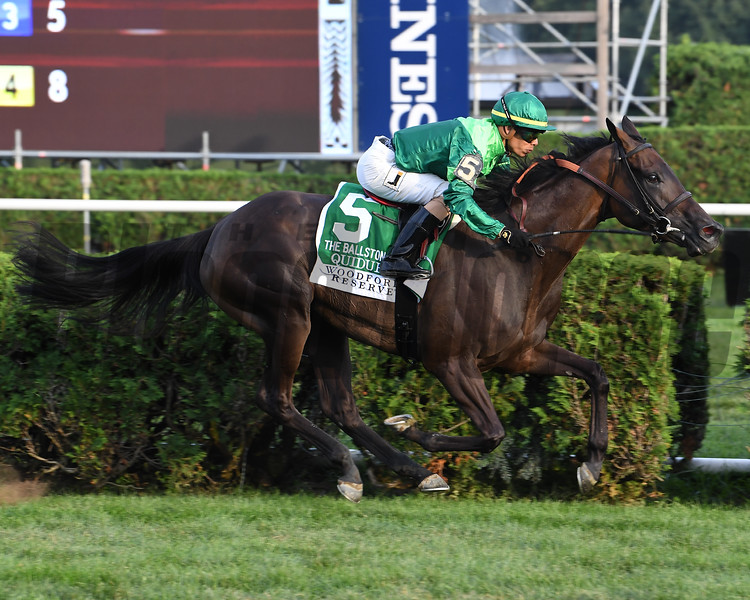 Quidura wins the 2018 Woodford Reserve Ballston Spa Stakes<br /> Coglianese Photos