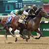 Still Having Fun wins 2018 Woody Stephens Stakes at Belmont Park June 9, 2018. Photo: Coglianese Photos/Susie Raisher