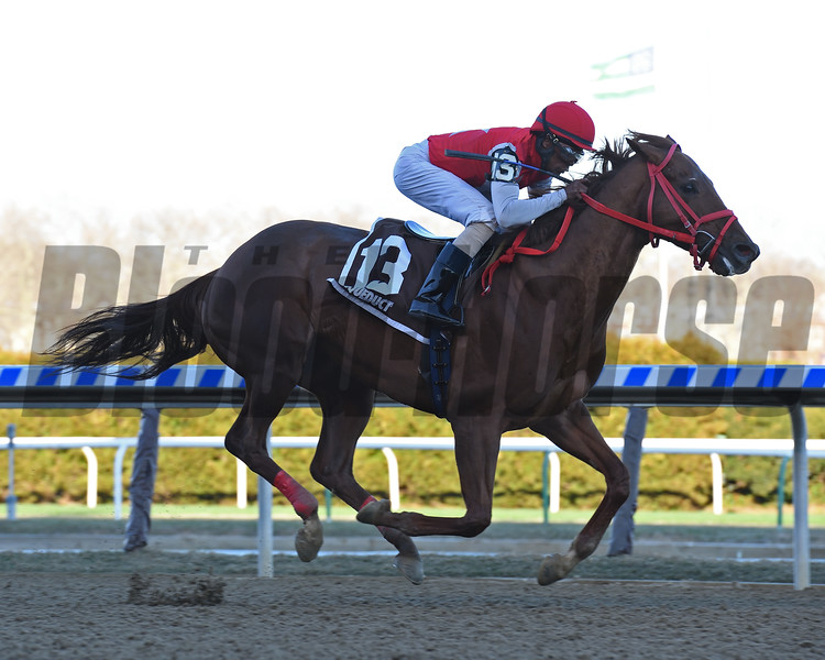 Holding Aces wins the 2018 Kelly Kip Stakes<br /> Coglianese Photos/Susie Raisher