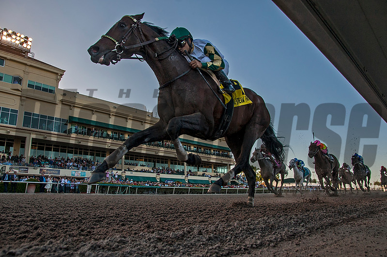 Classic Rock wins The Gulfstream Park Sprint  @ Gulfstream Park.; March 3 2018; © Joe DiOrio/Winningimages.biz