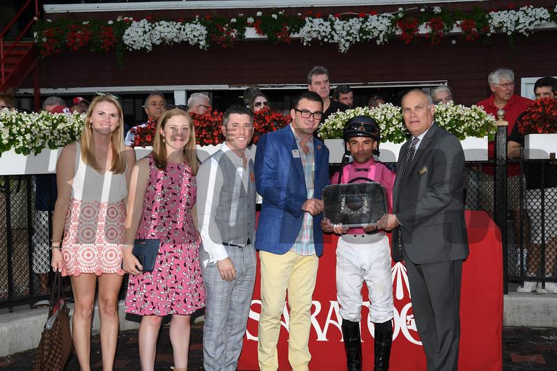 Channel Maker; Joel Rosario; Glorious Empire (IRE); Julien Leparoux; dead heat; Bowling Green Stakes; G2T; Saratoga Race Course; July 28; 2018