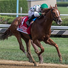 Promises Fulfilled with Luis Saez aboard wins the 34th running of The H. Allen Jerkens GI at Saratoga Race Course Saturday Aug. 25, 2018 in Saratoga Springs, N.Y.  Photo By Skip Dickstein