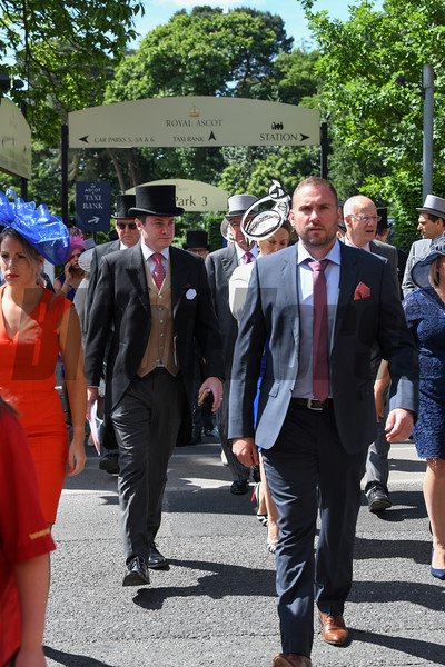 Royal Ascot, Ascot Race Course, Ascot, UK, 6-21-18, Photo by Mathea Kelley