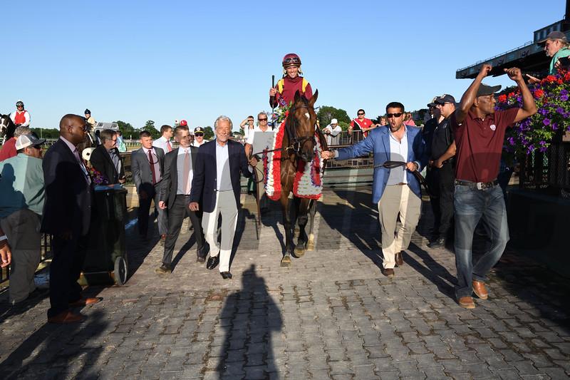 Catholic Boy, Javier Castellano, Belmont Derby Invitationals Stakes, G1T, Belmont Park, July 7, 2018
