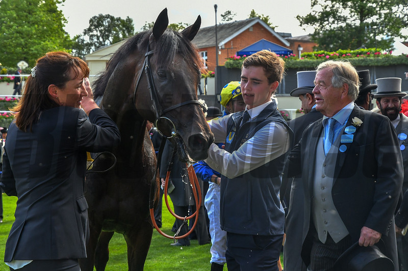 Poet's Word, James Doyle, win the G1 Prince of Wales Stake, Sir Michael Stoute, Royal Ascot, Ascot Race Course, Ascot, UK, June 20, 2018.