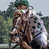 Promises Fulfilled with jockey Luis Saez aboard wins the 26th running of The Amsterdam at the Saratoga Race Course Saturday July 28, 2018 in Saratoga Springs, N.Y. Photo by Skip Dickstein