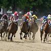 Hoppertunity wins 2018 Brooklyn Invitational Stakes at Belmont Park June 9, 2018. Photo: Coglianese Photo/Rob Mauhar