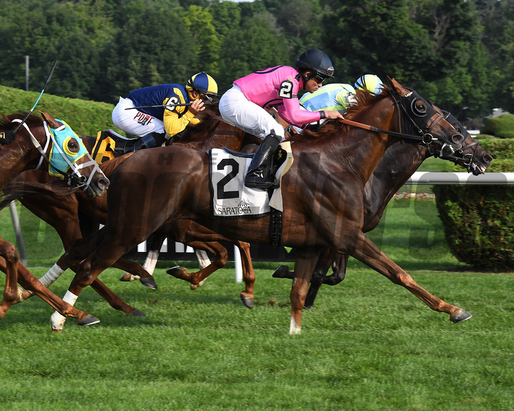 Channel Maker and Glorious Empire deadheat in the 2018 Bowling Green <br /> Coglianese Photos