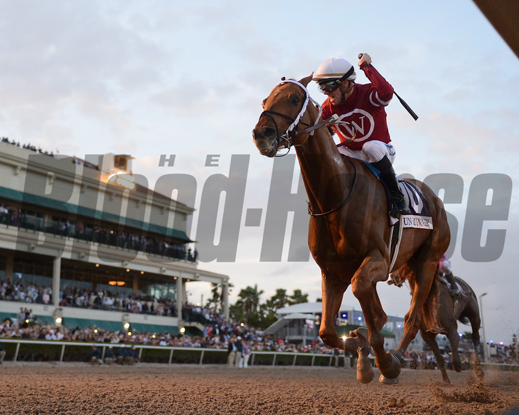 Gun Runner wins the 2018 Pegasus<br /> Coglianese Photos