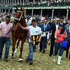 Monomoy Girl wins the 2018 Kentucky Oaks<br /> Dave Harmon