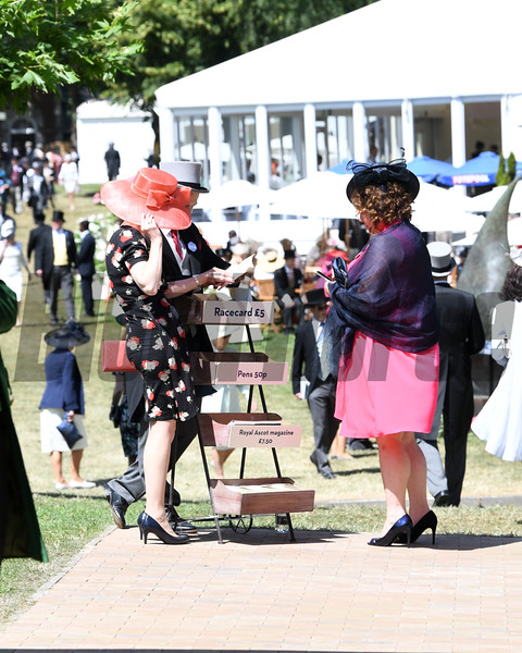 Royal Ascot,, Ascot Race Course, Ascot, UK, 6-21-18, Photo by Mathea Kelley