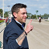 Scott Acker<br /> First win as a trainer with Sarasota Boy at Gulfstream Park on December 6, 2019<br /> Coglianese Photos/Ryan Thompson