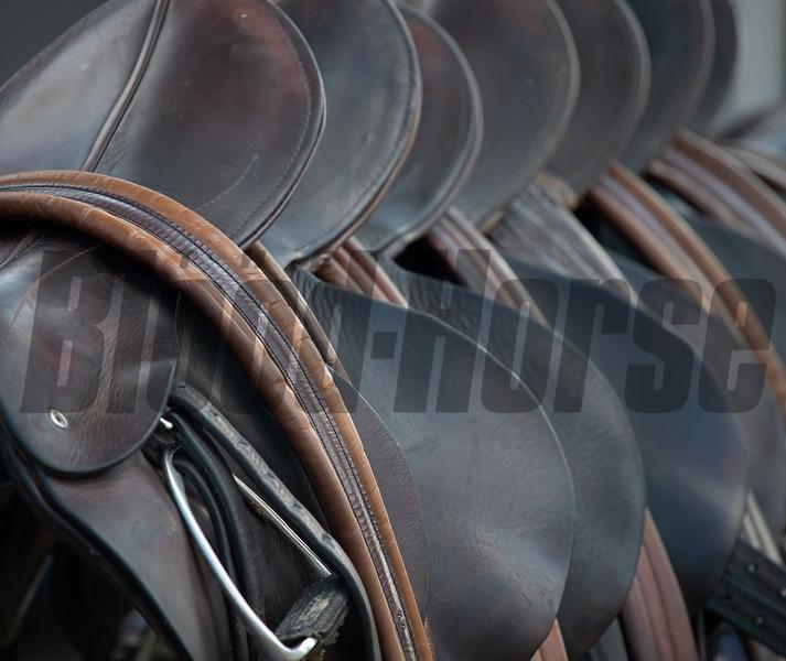 Saddles<br /> at Keeneland