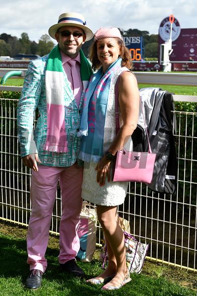 Scenes from the Qatar Prix de l'Arc De Triomphe, 10-6-19, Longchamp, Paris France, Mathea Kelley/Blood Horse