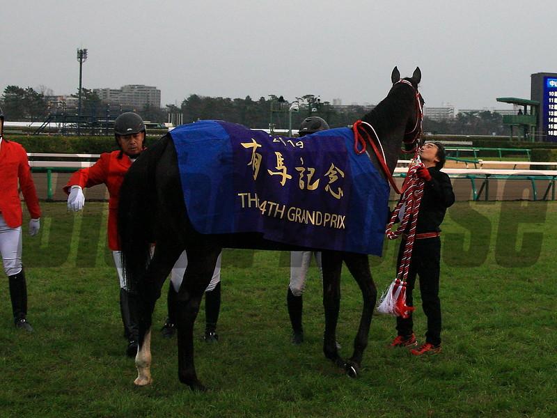 Lys Gracieux wins 2019 Arima Kinen Grand Prix. Photo: Naoji Inada