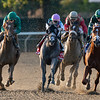 Code of Honor wins the Jockey Club Gold Cup after the disqualification of Vino Rosso, who finished first<br /> Coglianese Photos/Elsa Lorieul
