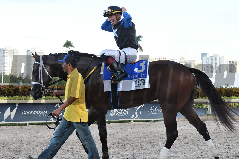 Chance It wins the 2019 FTBOA Florida Sire In Reality Stakes at Gulfstream Park<br /> Coglianese Photos/Ryan Thompson