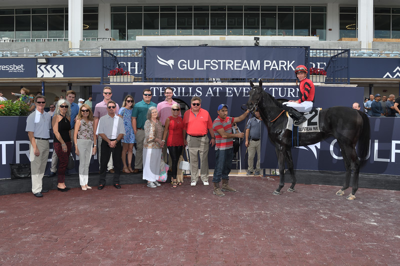Extravagant Kid wins 2019 Janus Stakes at Gulfstream Park. Photo: Coglianese Photos