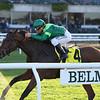 Fifty Five wins the 2019 Ticonderoga Stakes at Belmont Park<br /> Coglianese Photos/Joe Labozzetta