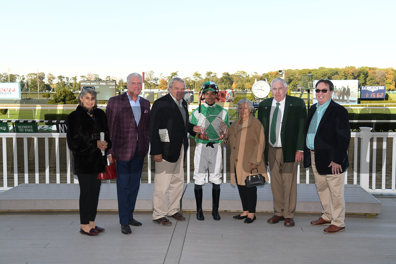 Pauseforthecause wins the 2019 Iroquois Stakes at Belmont Park<br /> Coglianese Photos