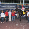 Instilled Regard wins the 2019 Ft. Lauderdale Stakes at Gulfstream Park<br /> Coglianese Photos