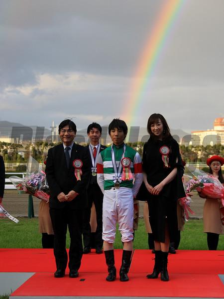 Resistencia wins the 2019 Hanshin Juvenile Fillies<br /> Naoji Inada Photo