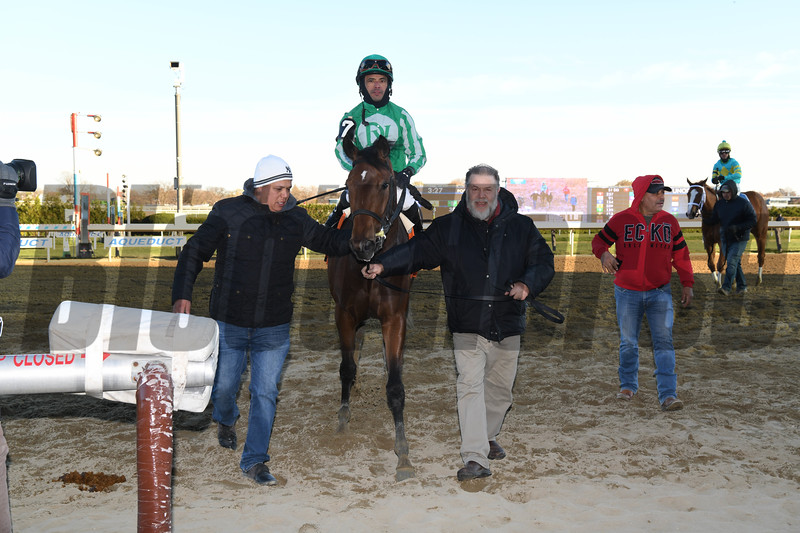 Big Q wins the 2019 Key Cents Stakes<br /> Coglianese Photos