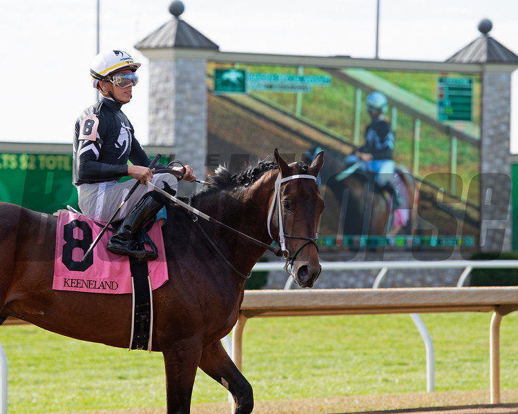 Wayne O after Race 7 at Keeneland on Oct. 19, 2019 Keeneland in Lexington, Ky.