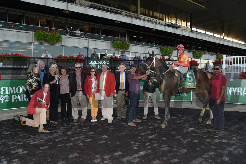 Naked Avenger wins the 2019 Joseph A. Gimma Stakes at Belmont Park<br /> Coglianese Photos