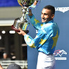 Karis Teetan wins the 2019 LONGINES International Jockeys' Championship<br /> Photo: Katsumi Saito