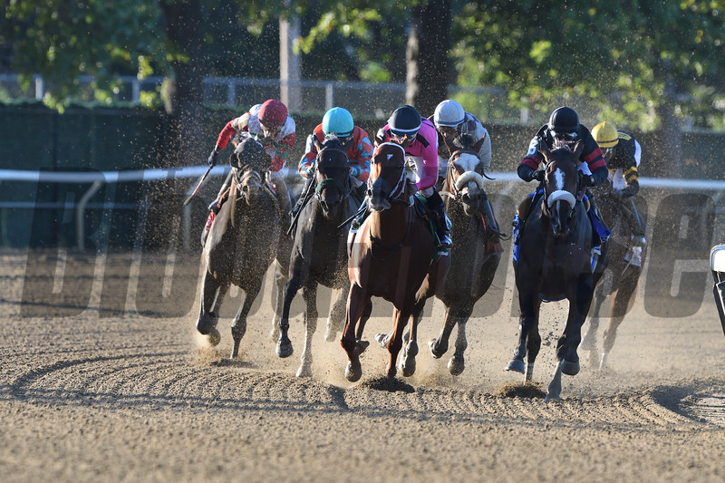 Tiz the Law wins the Champagne Stakes at Belmont Park<br /> Coglianese Photos/Derbe Glass