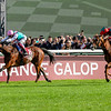 Waldgeist Pierre-Charles Boudot Win the Qatar Prix de l'Arc de Triomphe, 10-6-19. Trained by Andre Fabre, Mathea Kelley-Bloodhorse