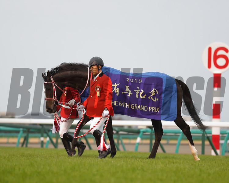 Lys Gracieux wins the 2019 Arima Kinen Grand Prix. Photo: Masakazu Takahashi