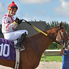 Cristian Torres 100th win<br /> Gulfstream Park West, October 24, 2019<br /> Coglianese Photos/Ryan Thompson