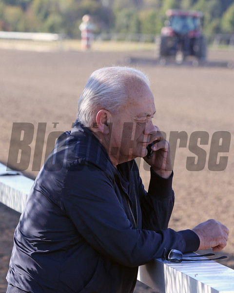 Jerry Hollendorfer at Parx on September 20, 2019. Photo By: Chad B. Harmon