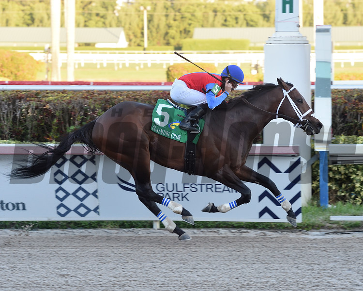 Leitone wins the 2019 Claiming Crown Jewel at Gulfstream Park<br /> Coglianese Photos/Lauren King