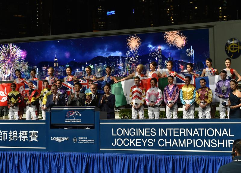 2019 LONGINES International Jockeys' Championship<br /> Photo: Katsumi Saito