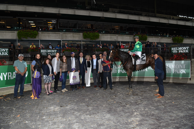 Sistercharlie wins the 2019 Flower Bowl Stakes at Belmont Park<br /> Coglianese Photos