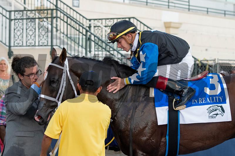 Chance It wins the 2019 FTBOA Florida Sire In Reality Stakes<br /> Coglianese Photos/Ryan Thompson