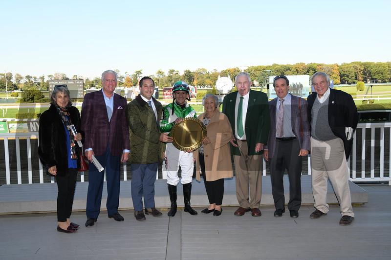 Mr. Buff wins the 2019 Empire Classic at Belmont Park<br /> Coglianese Photos