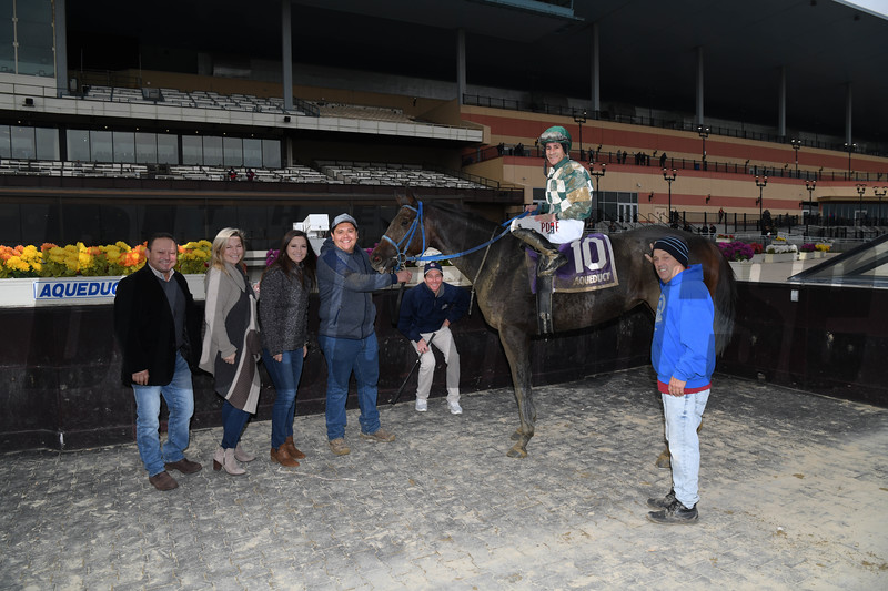 Our Super Nova wins the New York Stallion Series Stakes on November 10, 2019 at Aqueduct<br /> Coglianese Photos