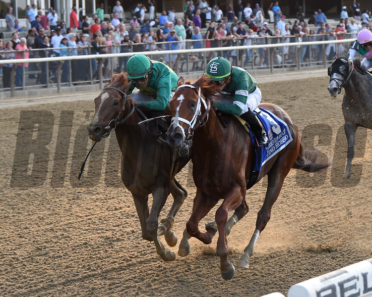 Code of Honor wins the Jockey Club Gold Cup after the disqualification of Vino Rosso, who finished first<br /> Coglianese Photos/Chelsea Durand