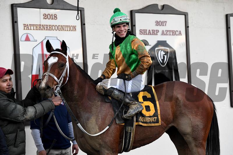 A Freud of Mama wins the 2019 New York Stallion Series Stakes<br /> Coglianese Photos/Joe Labozzetta
