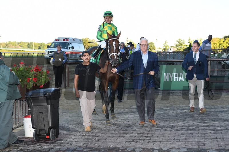 Arklow wins the 2019 Joe Hirsch Turf Classic at Belmont Park<br /> Coglianese Photos