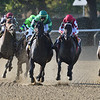 Midnight Bisou wins the 2019 Beldame Stakes at Belmont Park<br /> Coglianese Photos/Elsa Lorieul