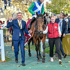 One Master and Pierre Charles Badout, win the Pirx De La Foret, 10-6-19. Trained by William Haggas, Mathea Kelley-Bloodhorse