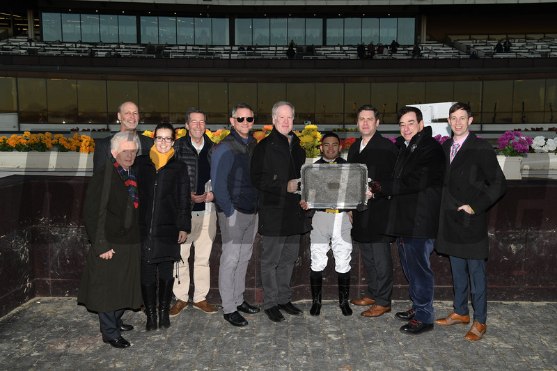 Shotski wins the 2019 Remsen Stakes at Aqueduct<br /> Coglianese Photos