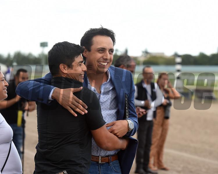 Genubi Asquifar wins the 2019 Copa Dama at Gulfstream Park<br /> Trainer Efren Loza Jr.<br /> Coglianese Photos/Lauren King